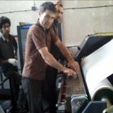 Iran customer inspection machine photo
