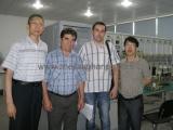 Overseas customer visit