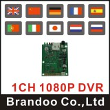 2017. 1080P 1 CHANNEL SD DVR MODULE, 128GB SD MEMORY