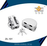 DL-101 double door stainless steel 304 glass door lock