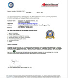 MIC on site audit report