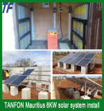 8kw solar power system project in Mauritius