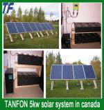 5kw wind &solar hybrid system install in canada