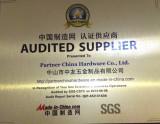 Autited supplier-2013