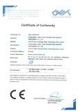 TIANLI certificate CE 1