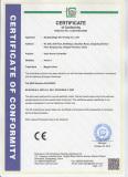 CE Certificate Of Controller