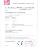 Electric underfloor heating mats passed CE certificate