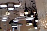 modern lamp showroom