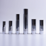 hot sale silver cylinder airless bottles