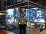 Daylead factory products led car light in the 2012 Vietnam Exhibition 1