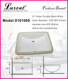 Stock porcelain under basin 0101068