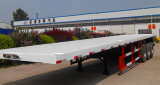 Container flatbed trailer