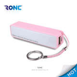 Mini Portable 2000mAh Perfume Power Bank for all kinds of mobile phone