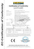 CE Certificate of Infaltable water games