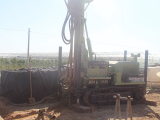 HF200Y Crawler Water Well Drilling Machine In Working Site