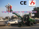 Telescopic wheel loader HY2500 with 80HP power