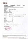 ALUMINA SGS Test Report. .