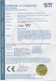 CE Certificate of Bluetooth Speaker