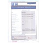 CB Certification of SC18W compressor