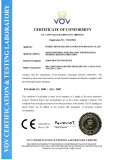 CE Certificate for Surge Protector
