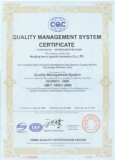 Ceramic substrate ISO Certificate