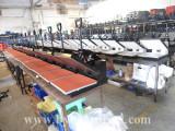 flat heat press machine in production