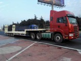 low bed and truck head