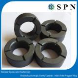 Permanet Ferrite magnet ring for air conditioner