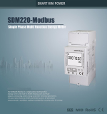 RS485 Modbus Electricity Energy Meter SDM220 Modbus