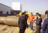 Thiland Client visit our client′s Pellets plant