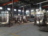 liquid detergent making tanks ready for shippment