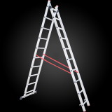 Factory price cheap multi-task telescopic aluminum ladder supplier