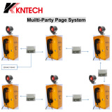 Multi-party paging system PAGA braodcasting kntech
