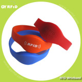13.56mhz rfid wristband silicon for Acess control