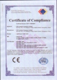 cetificate of compliance