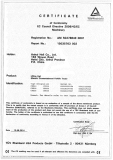 CE Certification for Electric counterbalanced forklift truck model CPD10