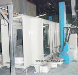 Automatic electrostatic powder coating