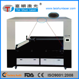 large CCD fast speed laser cutting machine