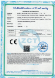 CE certification of Molde X3