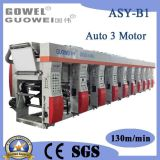 Three motor 8 color Rotogravure Printing machine 130m/min