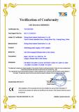 CE/LVD certification