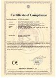 Certificate LED Strip CE LVD