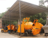 Pully Concrete Mixer Pump