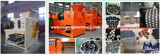 Dry powder hydraulic briquetting machine features
