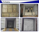 Safety and beautiful pearl wool and plywood packing