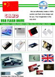 Products Catalogue-Credit Card USB Flash Drives