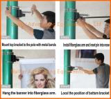 Banner bracket Install step 1