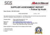 Yuyao Laisifu Houseware Co.,LTD SGS test report