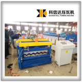 KXD 830 Glazed roofing tile roll forming machine