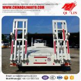 3 axles 50-60Ton payload low loader semi trailer for Brunei market